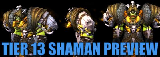 Tier 13 Shaman