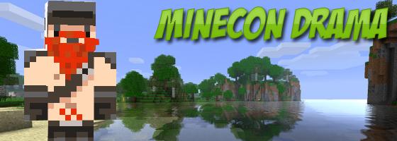 Minecon Drama