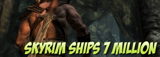 Skyrim Ships 7 Million