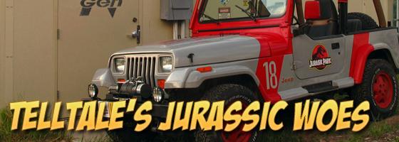 TellTale Jurassic Jeep
