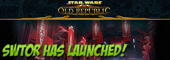 SWTOR Has Launched