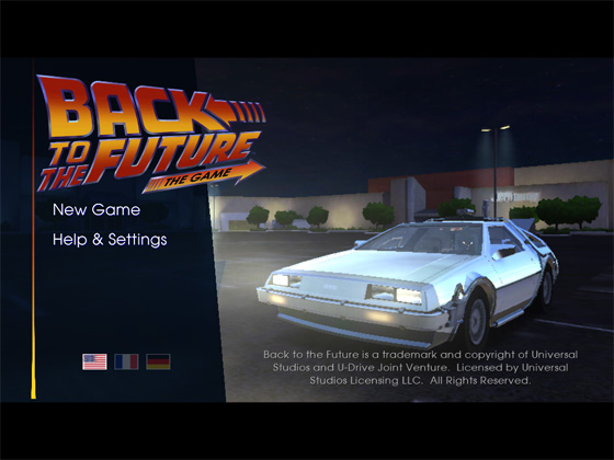Telltale Back to the Future iPad