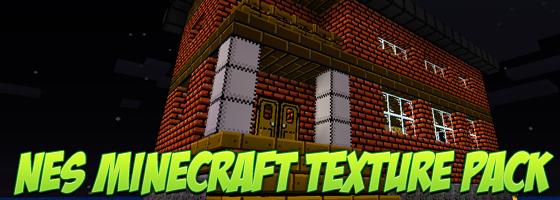 NES Texture Pack Minecraft