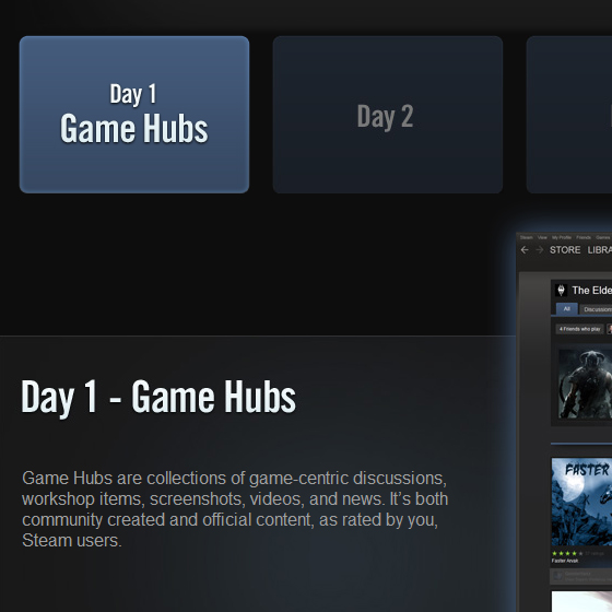 Steam Game Hub