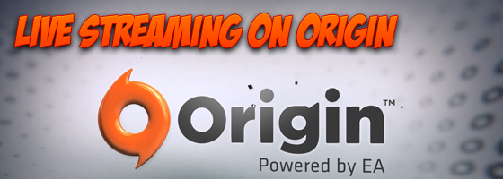Origin Streaming Twitch