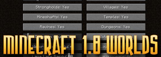 Minecraft World Customization